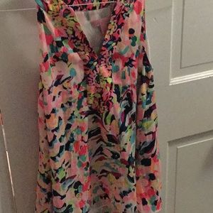 Sleeveless Lilly Pulitzer Top